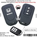 SFK Silicone Smart Key Cover Honda City (2014+) (Only for Push Button Start Models)