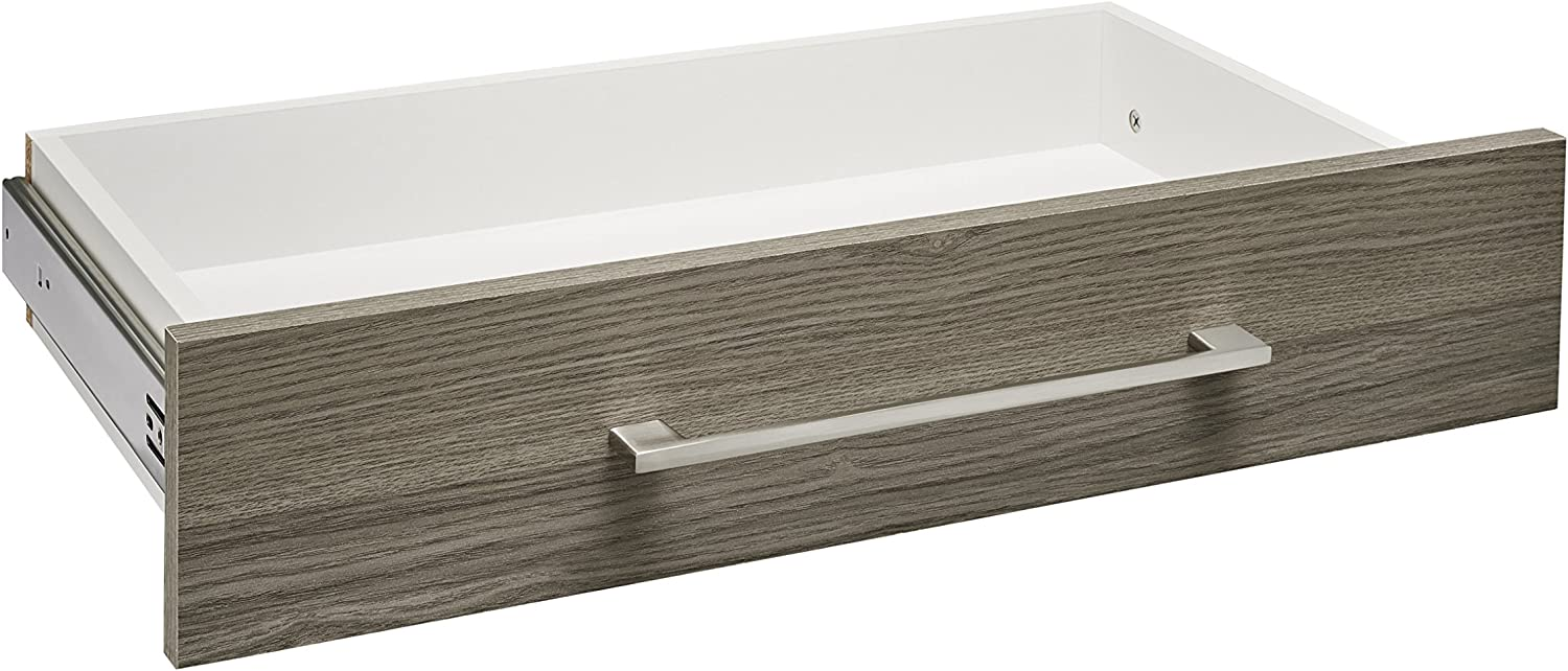 ClosetMaid 68886 SuiteSymphony Modern 25-Inch X 5-Inch Drawer, Natural Gray