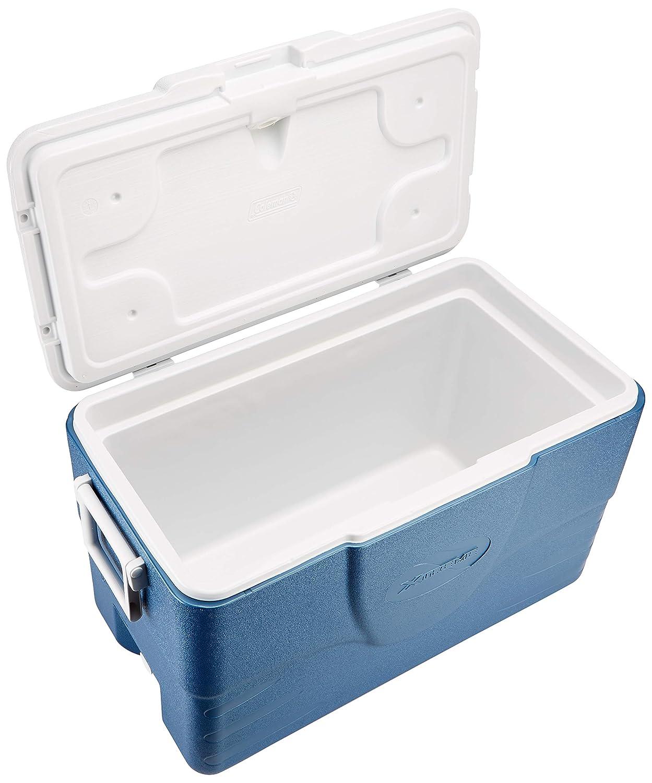 Multicolor 49 litros Coleman 52QT Cool Box Xtreme Azul//Blanco
