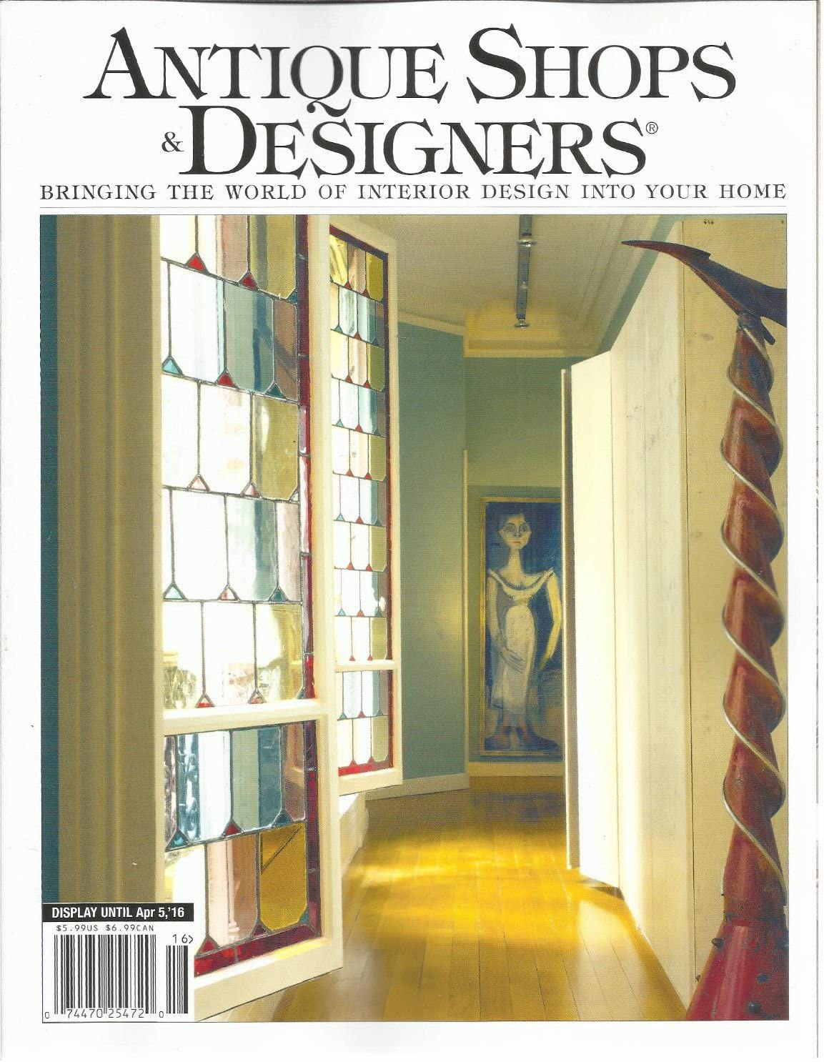 Amazon Com Antique Shops Designers Magazine 2016 Bringing The World Of Interior Design Everything Else
