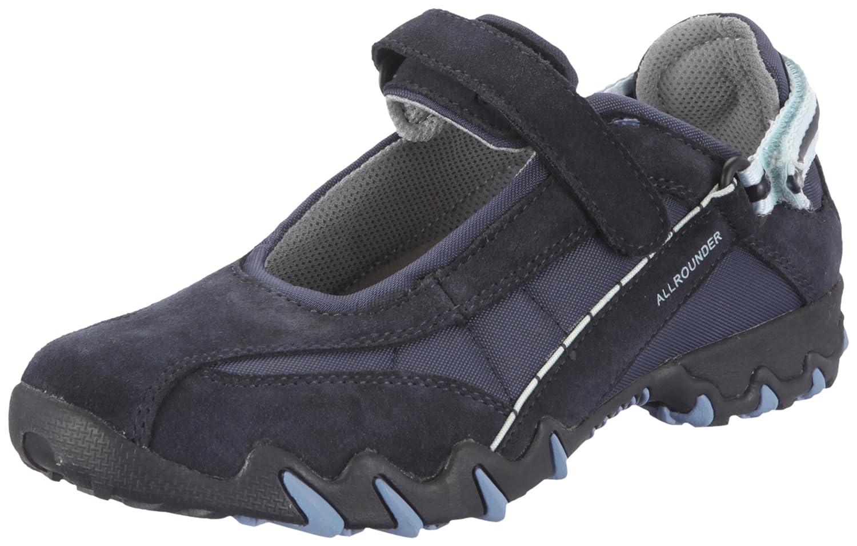 Allrounder by Mephist, Zapatos de Cuero Mujer 41.5 EU Azul