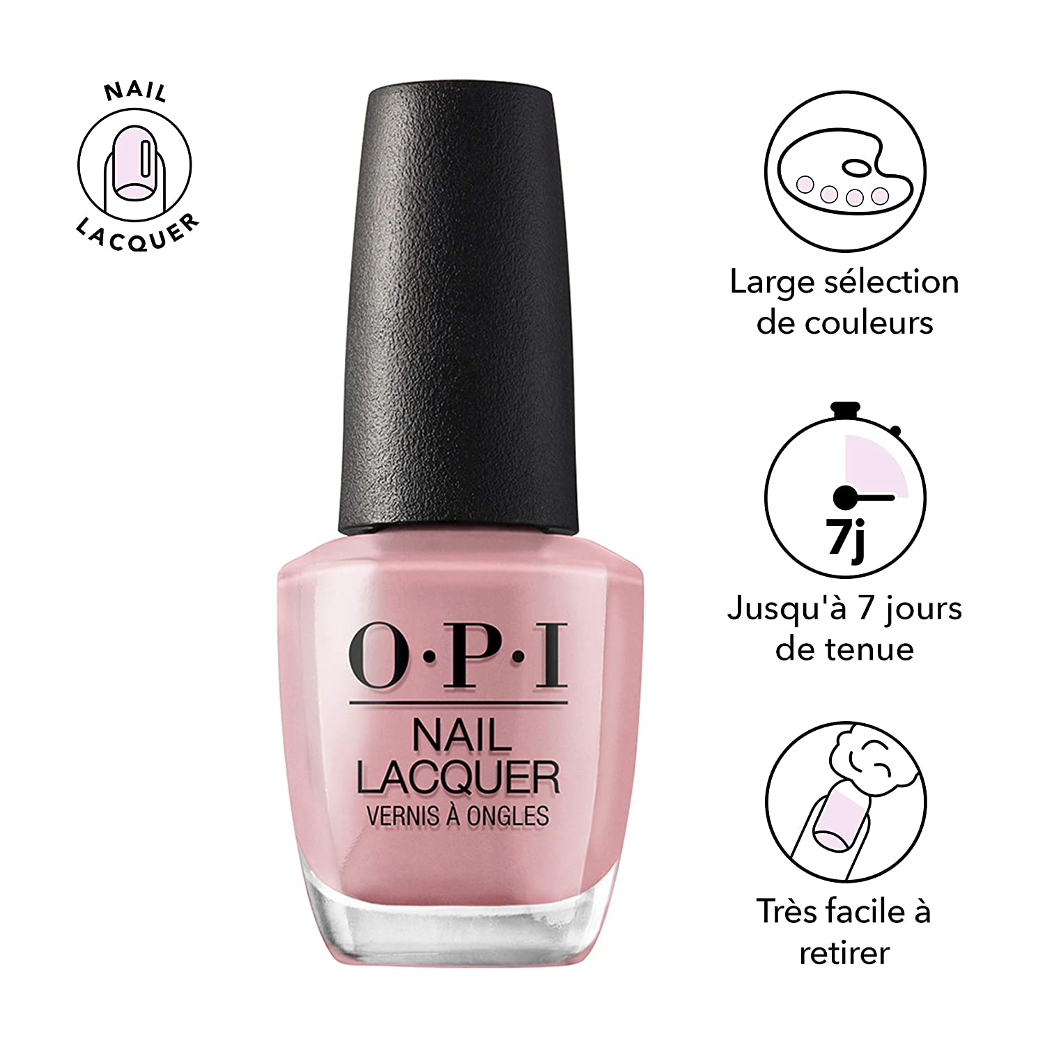 Amazon.com: OPI Nail Lacquer, Tickle My France-y: Luxury Beauty