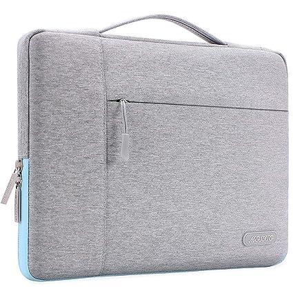 nueva alta calidad nuevo producto hermosa y encantadora MOSISO Maletín Compatible con 13-13,3 Pulgadas MacBook Air/MacBook Pro  Retina/2018 Surface Laptop 2/Surface Book 2, Poliéster Funda Blanda  Protectora ...