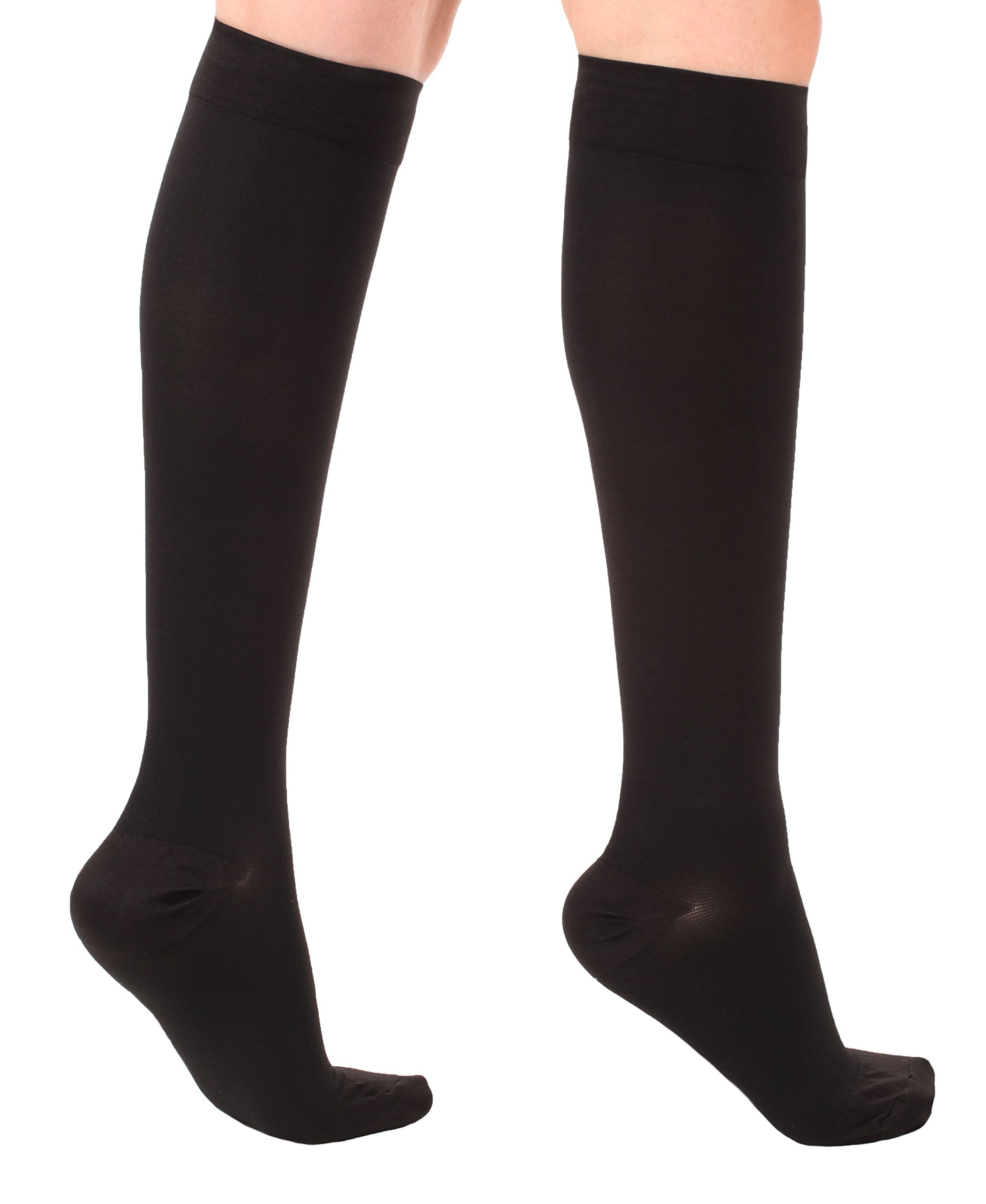 50e361687 Made in The USA XXL Plus Size Opaque Compression Socks