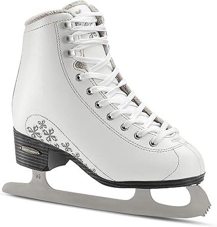 Amazon Com Bladerunner Ice By Rollerblade Aurora Women S Adult Figure Skates White Ice Skates Sports Outdoors