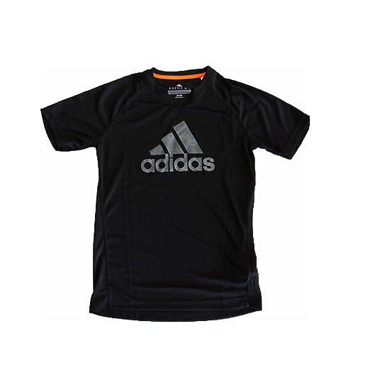 7b85b74bf2886 Amazon.com: Adidas Mens Performance Climalite Logo Tshirt: Clothing