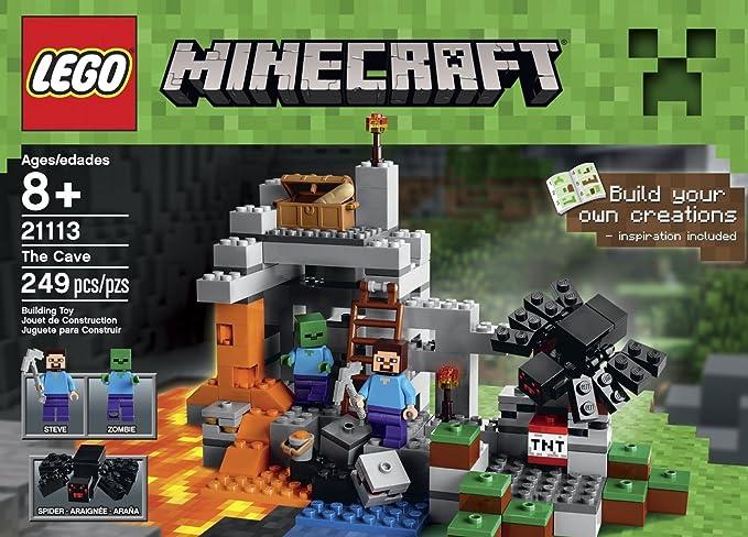 Amazon.com: LEGO Minecraft juguetes Premium educativo juegos ...