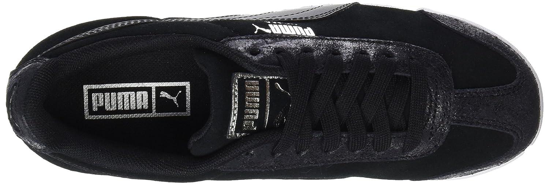 Puma Damen Roma Sneaker Classic Met Safari Sneaker Roma Schwarz (schwarz-schwarz) e1e6ce