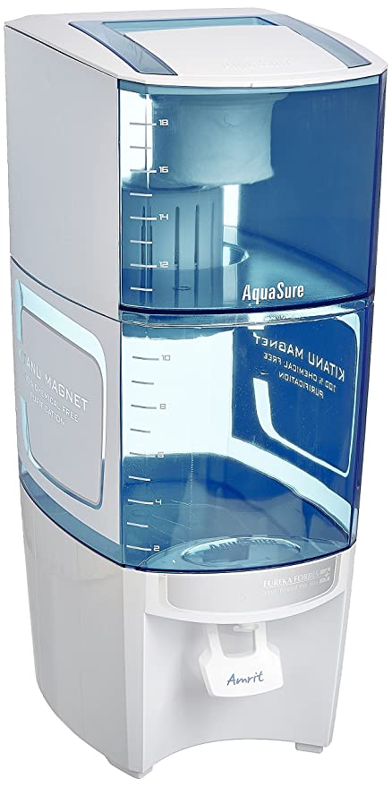 bfa7d7e0d84 Image Unavailable. Image not available for. Colour  Eureka Forbes Aquasure  from Aquaguard Amrit 20-Litre Water Purifier ...