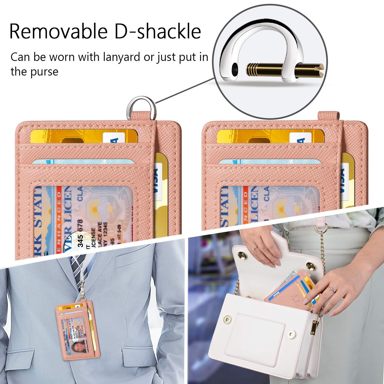 FurArt Slim Minimalist Wallet, Front Pocket Wallets, RFID Blocking, Credit Card Holder with Disassembly D-Shackle by FurArt (Image #4)