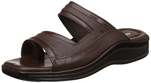 37e0c357e0ae Coolers (from Liberty) Men s 2050-01 Brown Leather Hawaii Thong Sandals - 8