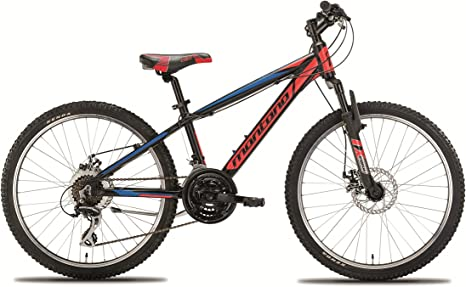Montana Bike Mountain Bike 24 Pulgadas spidy Disc: Amazon.es ...