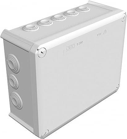 Obo-bettermann sistema conex.fij. - Caja derivación t-box tapa alta