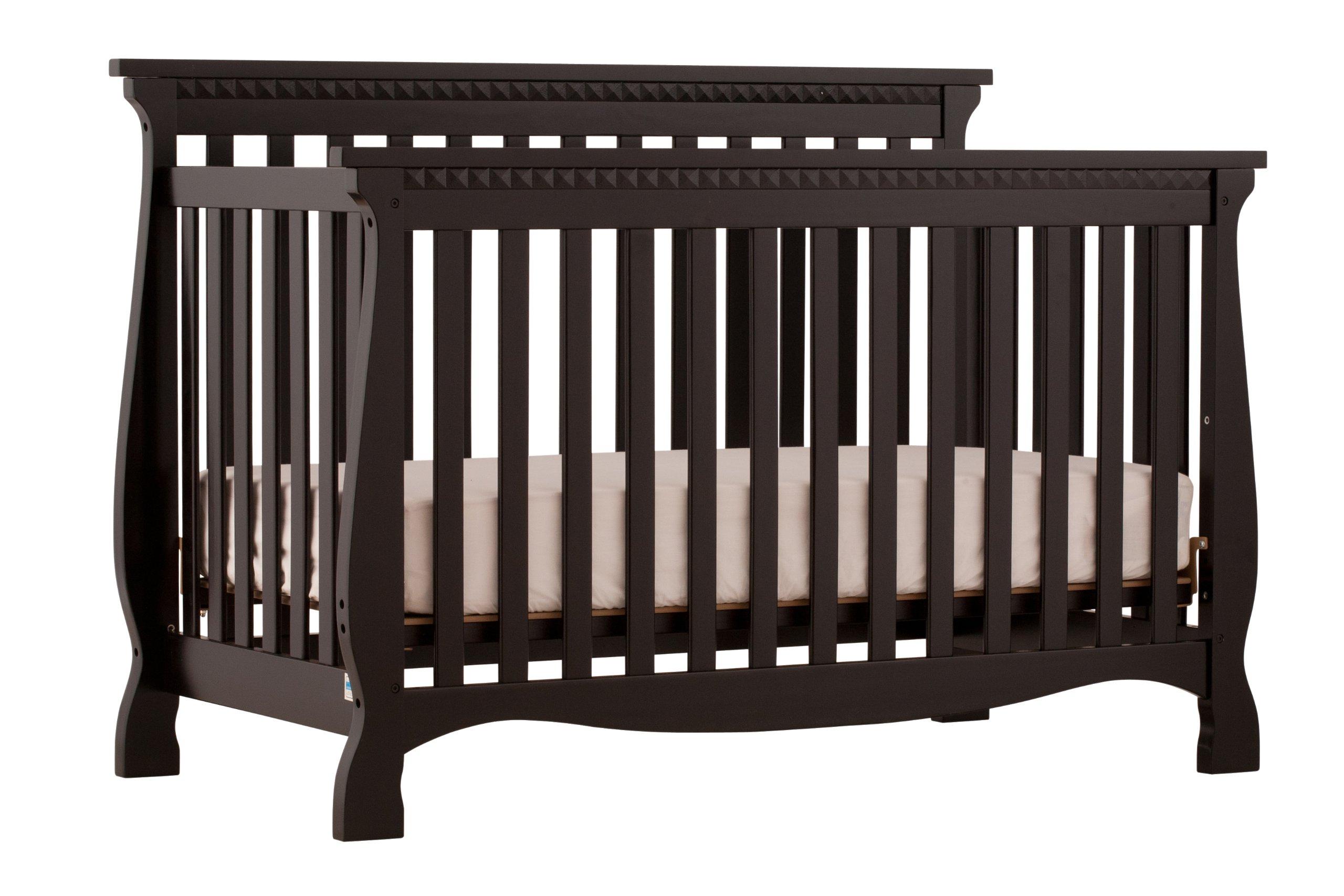 Stork Craft Venetian 4 In 1 Fixed Side Convertible Crib