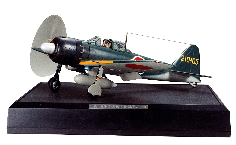 タミヤ 1/32 エアークラフトシリーズ No.18 日本海軍 三菱 零式艦上戦闘機 52型 プラモデル 60318 B000NNK0C2