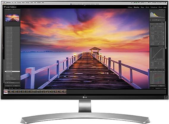 LG 27UD88-W - Monitor Serie 4K Ultra HD, IPS, 3840x2160 pixeles, 5 ms, 16:9, 350 cd/m2, Blanco, 27 pulgadas (69 cm): Lg: Amazon.es: Informática