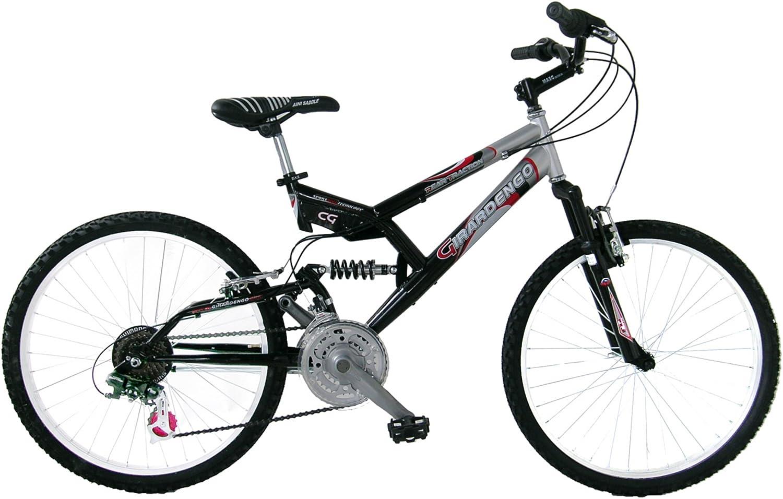 Girardengo Bicicleta MTB Full Rojo 24: Amazon.es: Deportes y aire libre