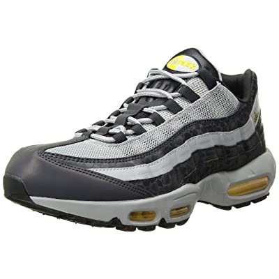 Nike Men's Air Max 95 SE Reflective, Off Noir/Amarillo-Wolf Grey, Size 10.5 | Track & Field & Cross Country
