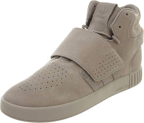 Malabares bordillo lago  Amazon.com: adidas Tubular Invader Strap Vapor Grey: Shoes