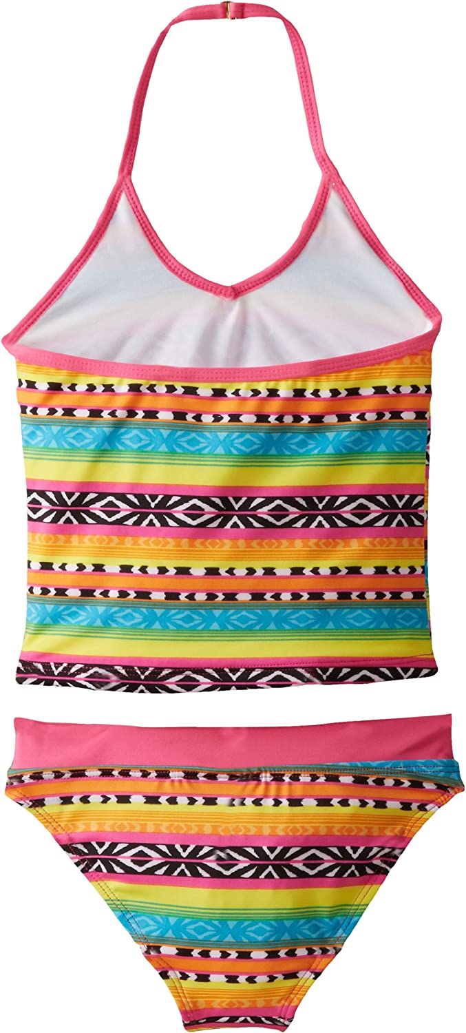 Jantzen Big Girls  Aztec Print Tankini with Fringe