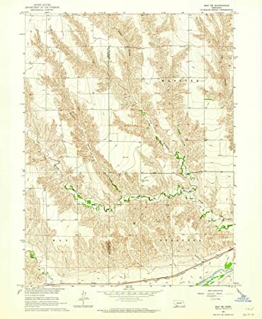 Amazon Com Nebraska Maps 1962 Max Ne Usgs Historical Topographic