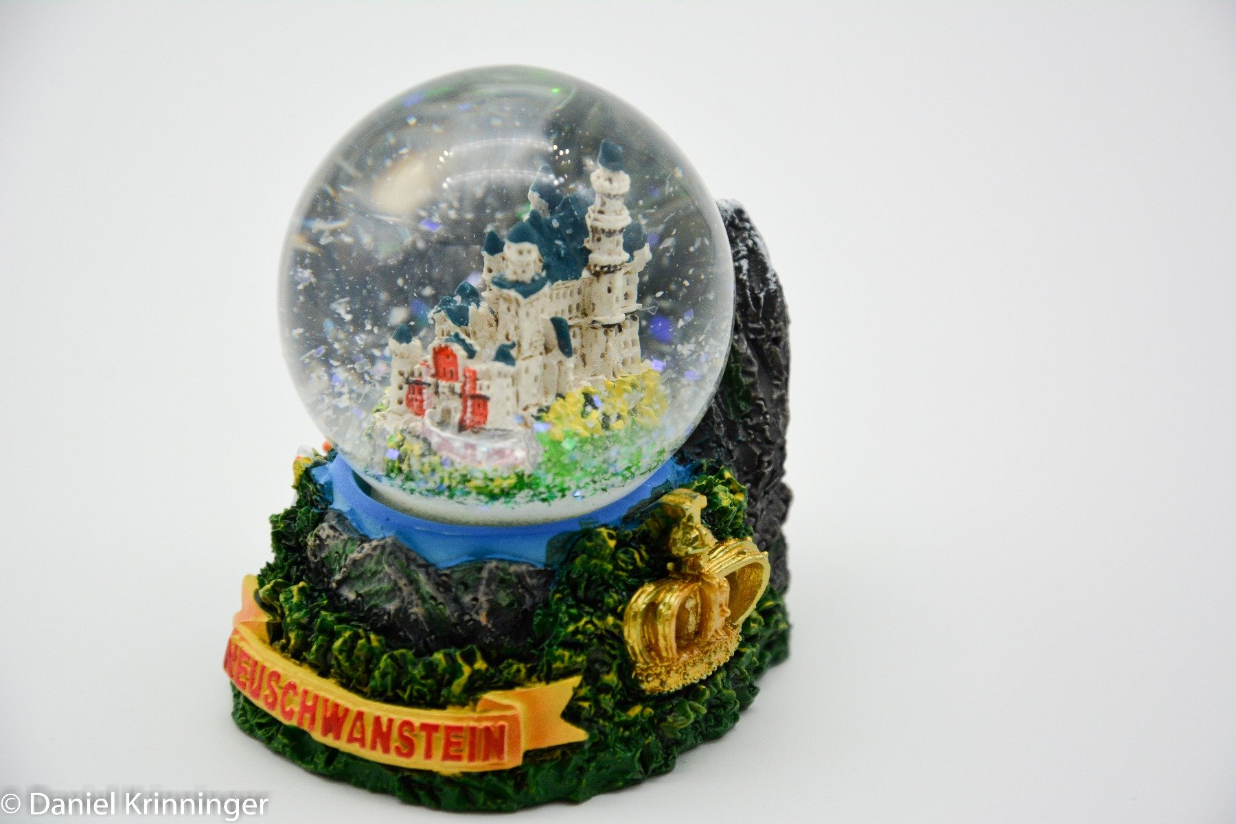 A Piece Of Europe Snow Globe Mini King's Castle Neuschwanstein