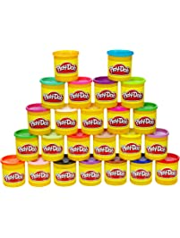 Play-Doh Modeling Compound 24-Pack Case of Colors, Non-Toxic, Multi-Color, 3-Ounce Cans, Ages 2 and up, Multicolor