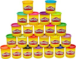 Play-Doh paquete de 24 latas de diferentes colores (Empaque Frustration Free)