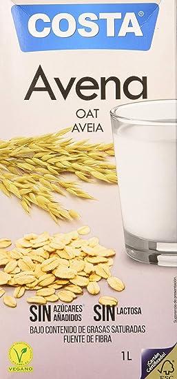 Costa Bebida de Avena 1000 ml - Pack de 6: Amazon.es: Alimentación y bebidas