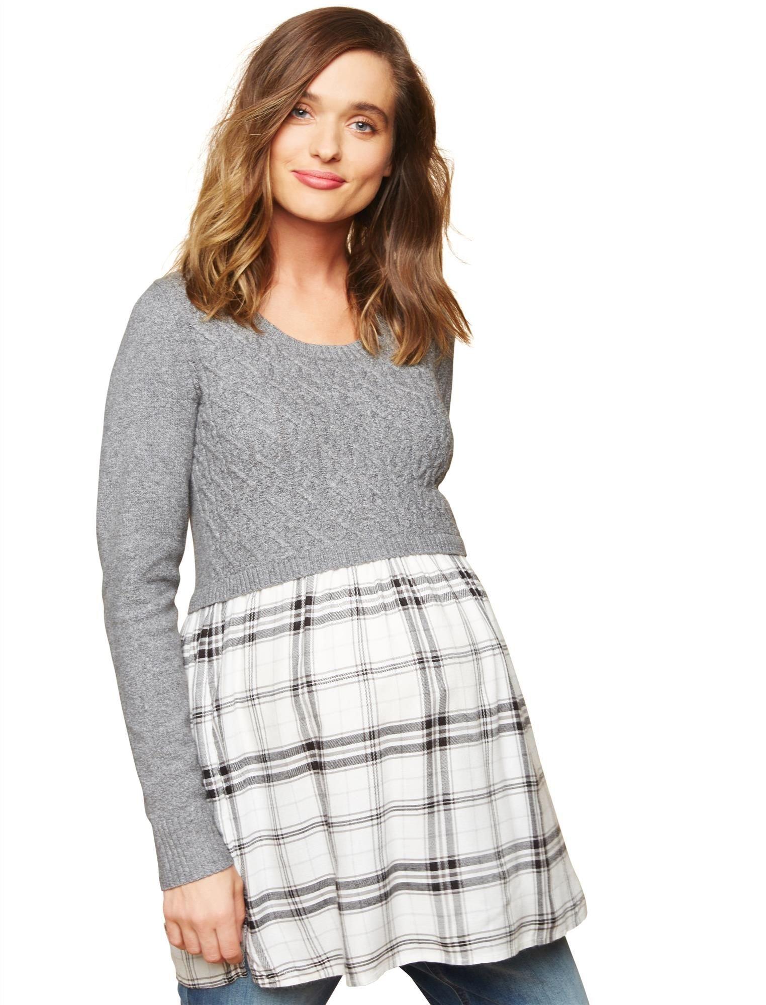Motherhood Babydoll Maternity Sweater