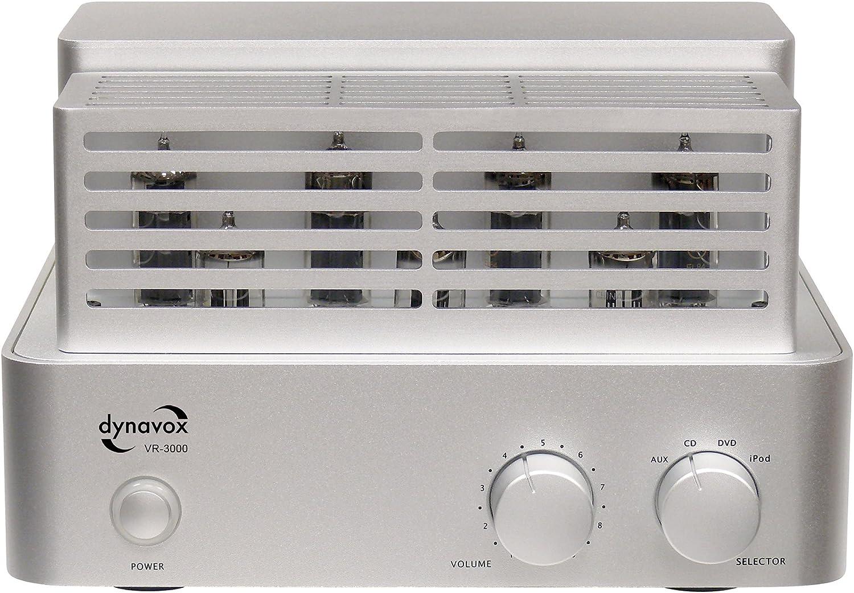 Dynavox Vr 3000 Röhrenvollverstärker Inkl Apple Ipod Dockingstation Audio Hifi