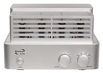 Dynavox Vr-3000 Amplificador De Válvulas Incl. Conexión Para Ipod