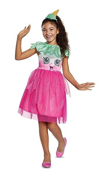 amazoncom girls shopkins ice cream kate halloween costume toys games