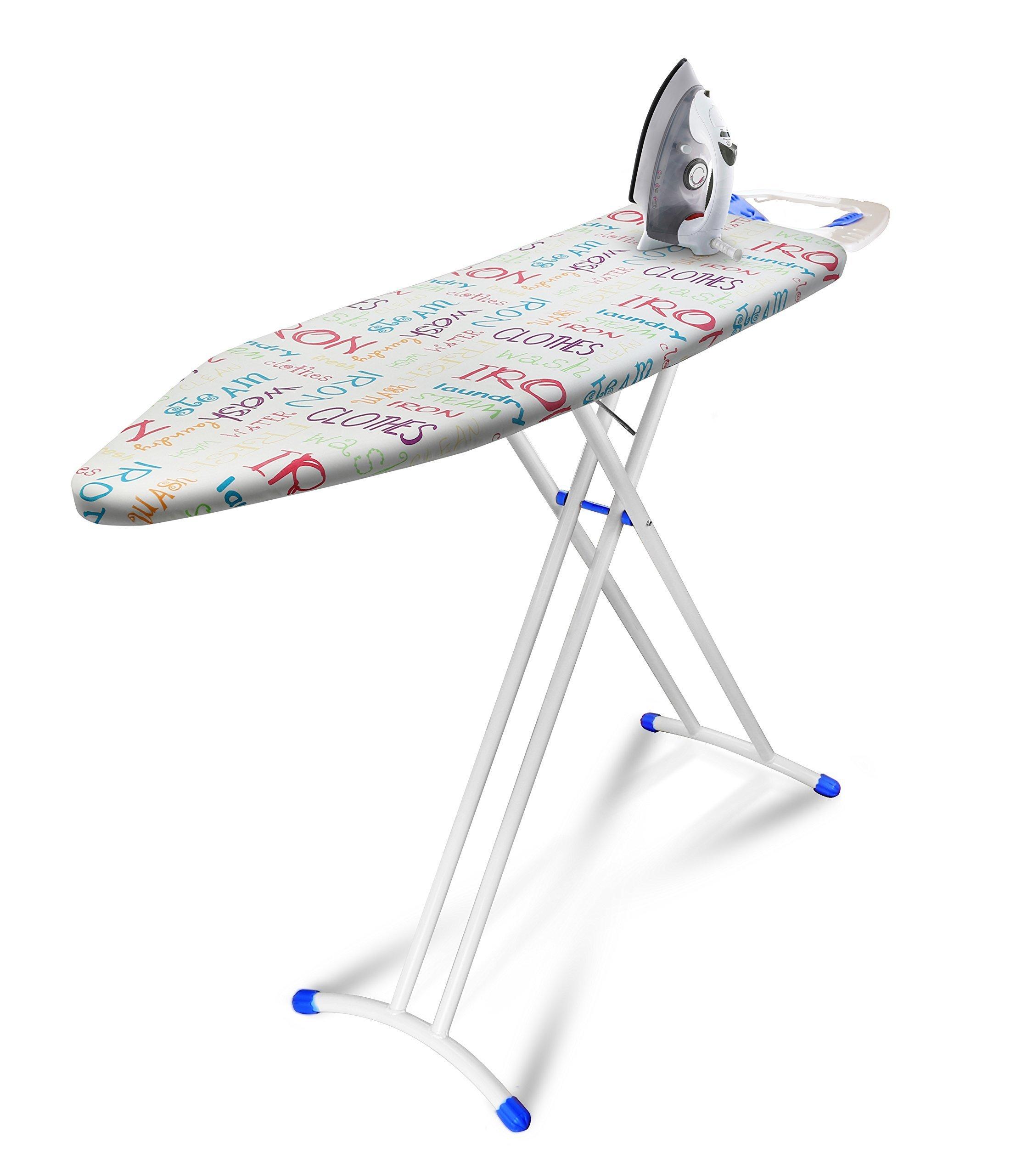 Bonita IB05-40BT Joy And Ironing Board, Bright Text, IB05-40BT