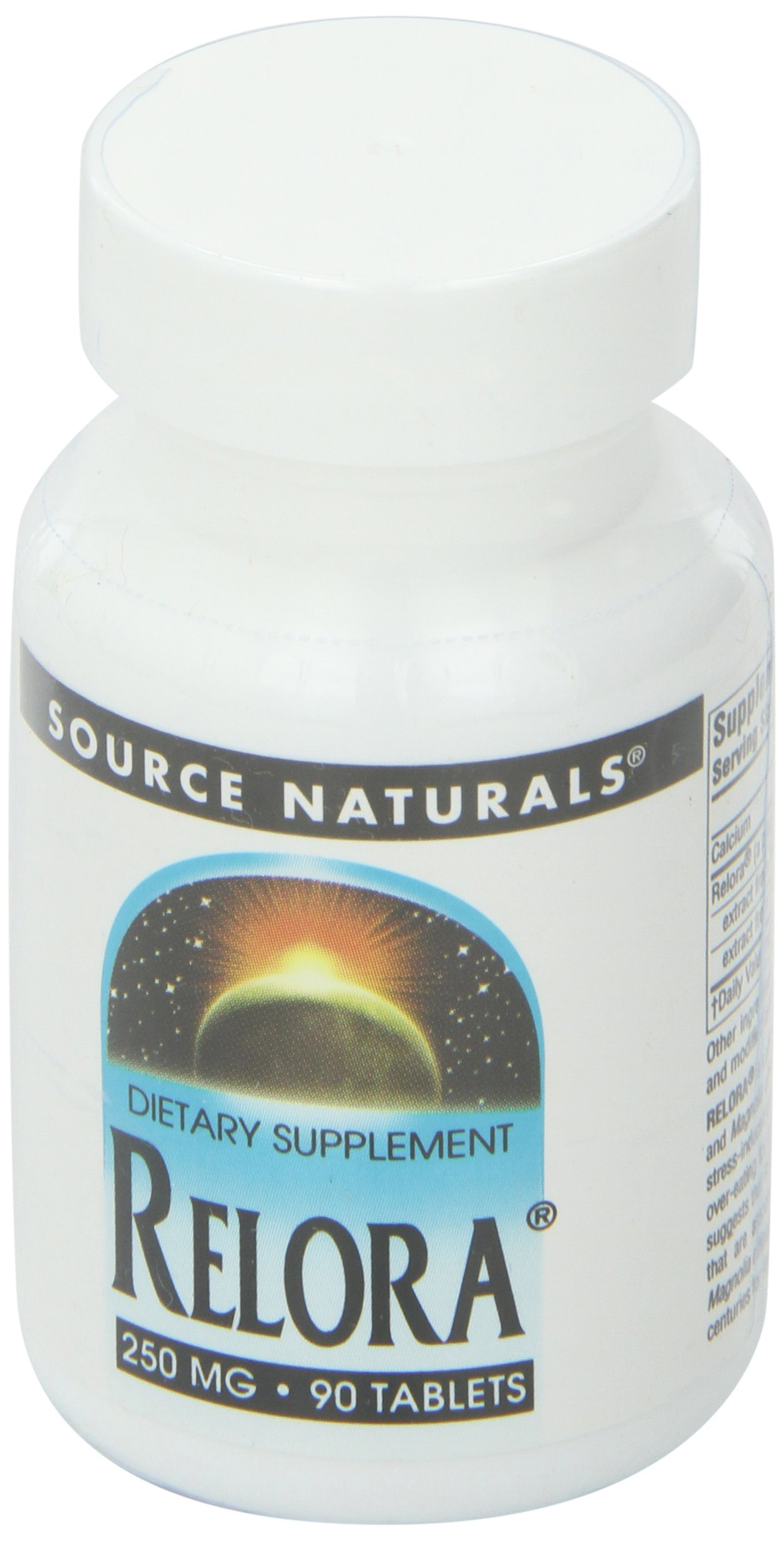Source Naturals Relora, 250mg, 90 Tablets (Pack of 2)