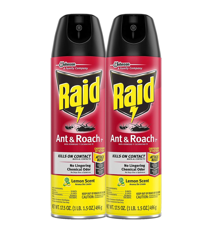 Raid Ant & Roach Killer Lemon Scent