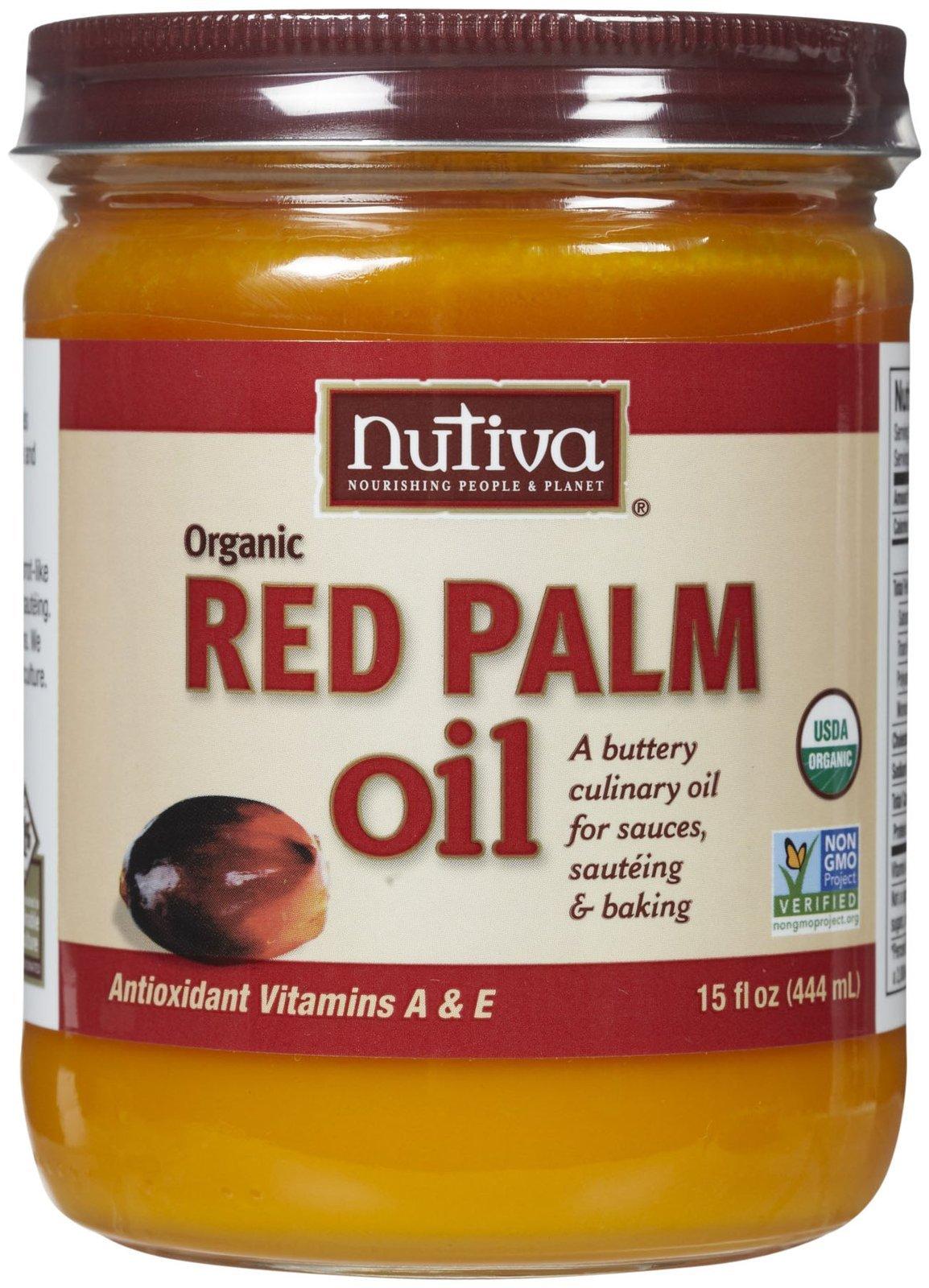 Nutiva Red Palm Oil, 15 fl oz