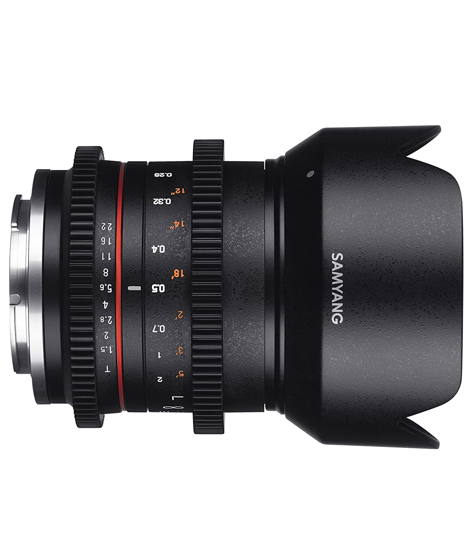 Samyang 21 mm T1.5 VCSC Lens for Sony E Camera Lenses Camcorder ...