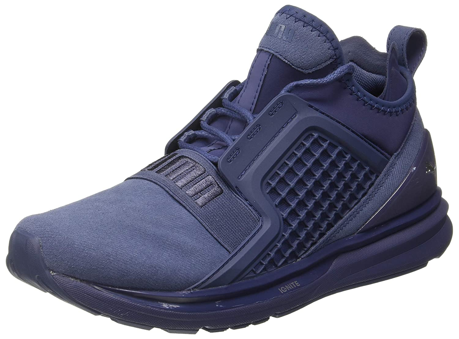 71871abf0f7 Puma Men s Ignite Limitless Brushed Suede Running Shoes  Buy Online at Low  Prices in India - Amazon.in