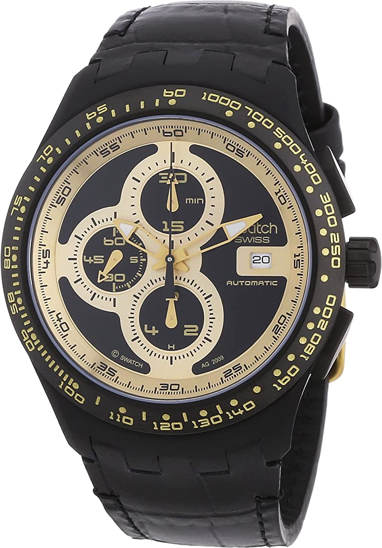 SWATCH Chrono Automatic RIGHT TRACK SUNSHINE SVGB401