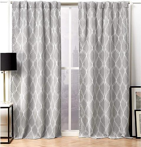 Nicole Miller Circuit Curtain Panel