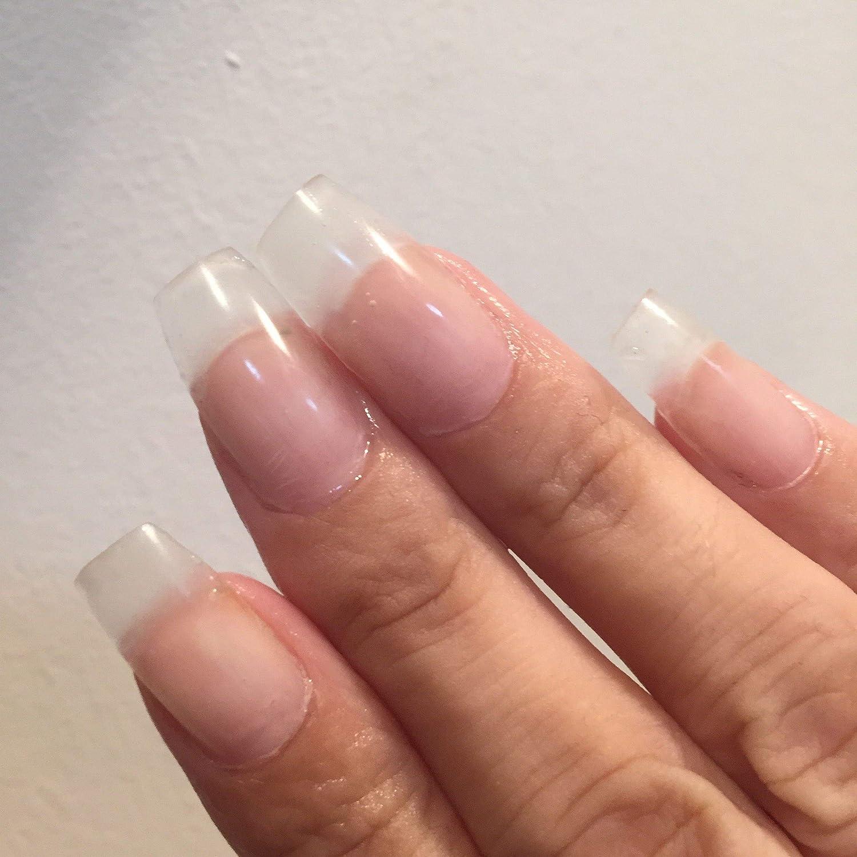 AIMEILI Builder Gel Nail Extensión Esmaltes Semipermanentes de Uñas Gel Construcción Consejos para uñas Rápida Molde Finger UV LED - Trasparente (30ml 1oz): ...