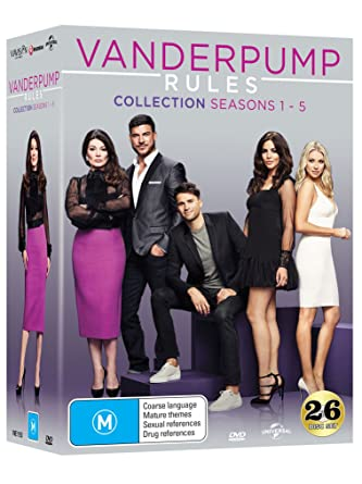 amazon com vanderpump rules season 1 5 box set dvd series 1 2 3