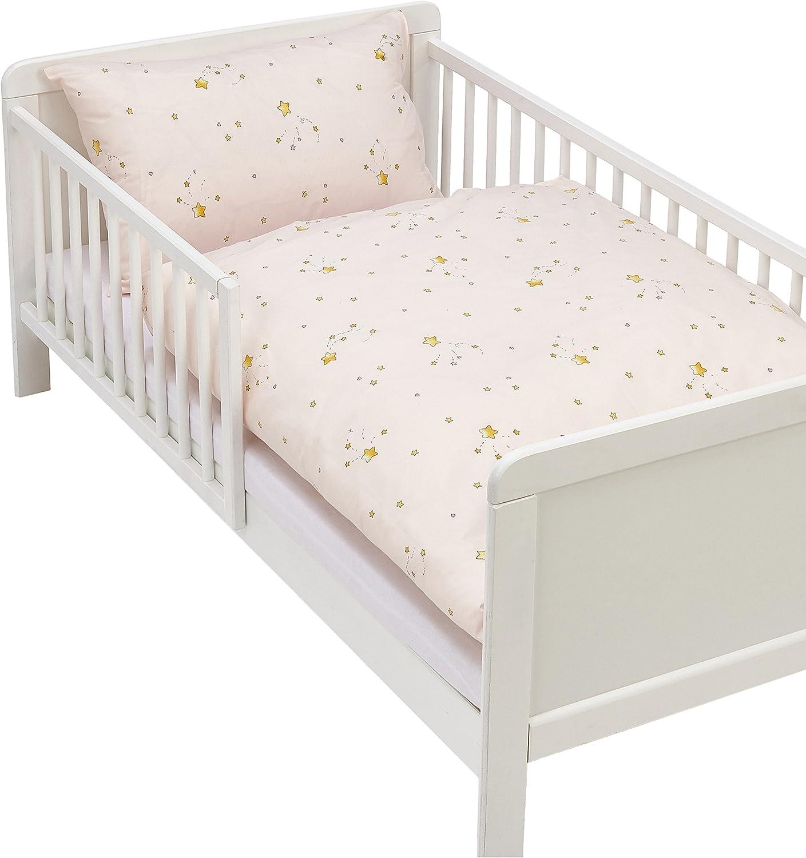 Ropa de cama funda almohada 40/x 60/cm y funa de edred/ón 100/x 135/cm color rosa Kindertraum 5255323/