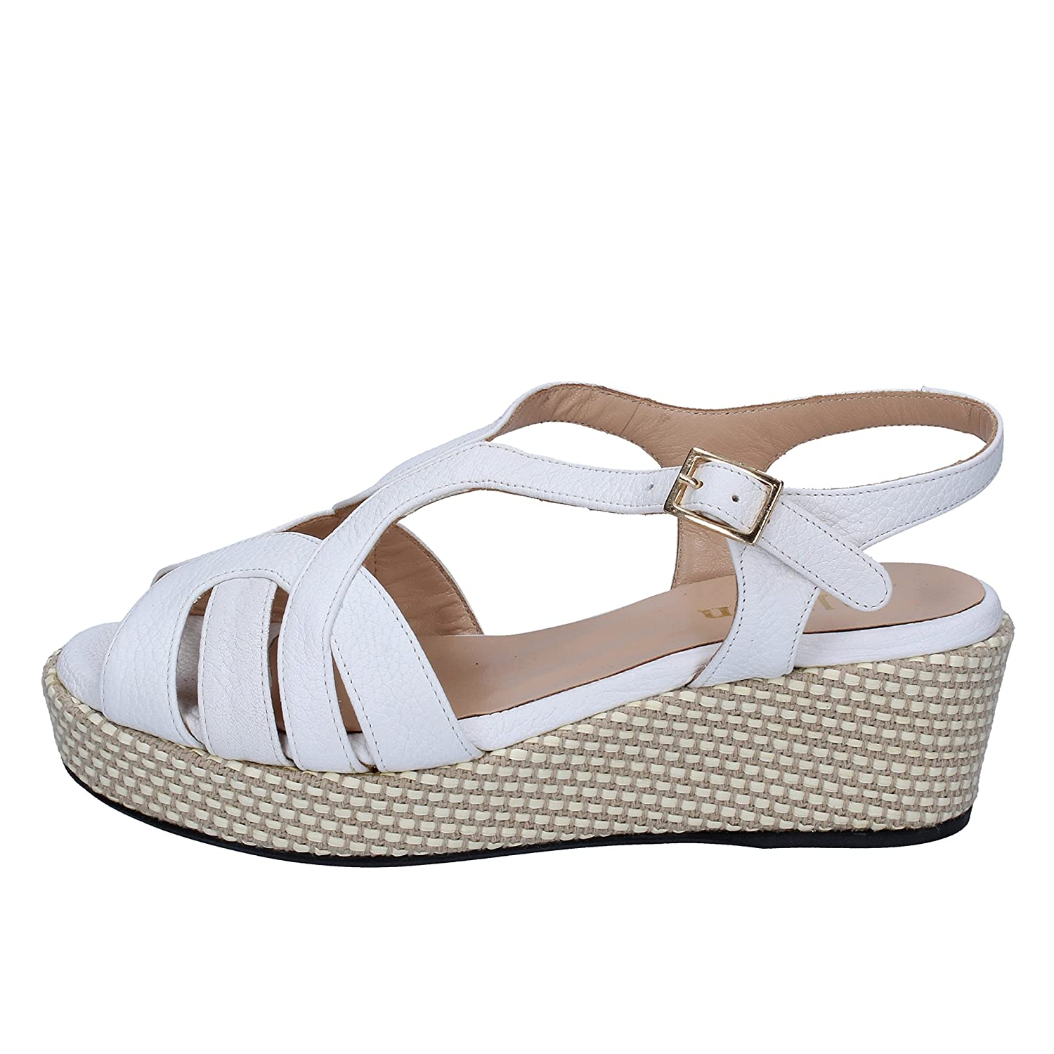 - ALLISON Sandals Womens Leather White