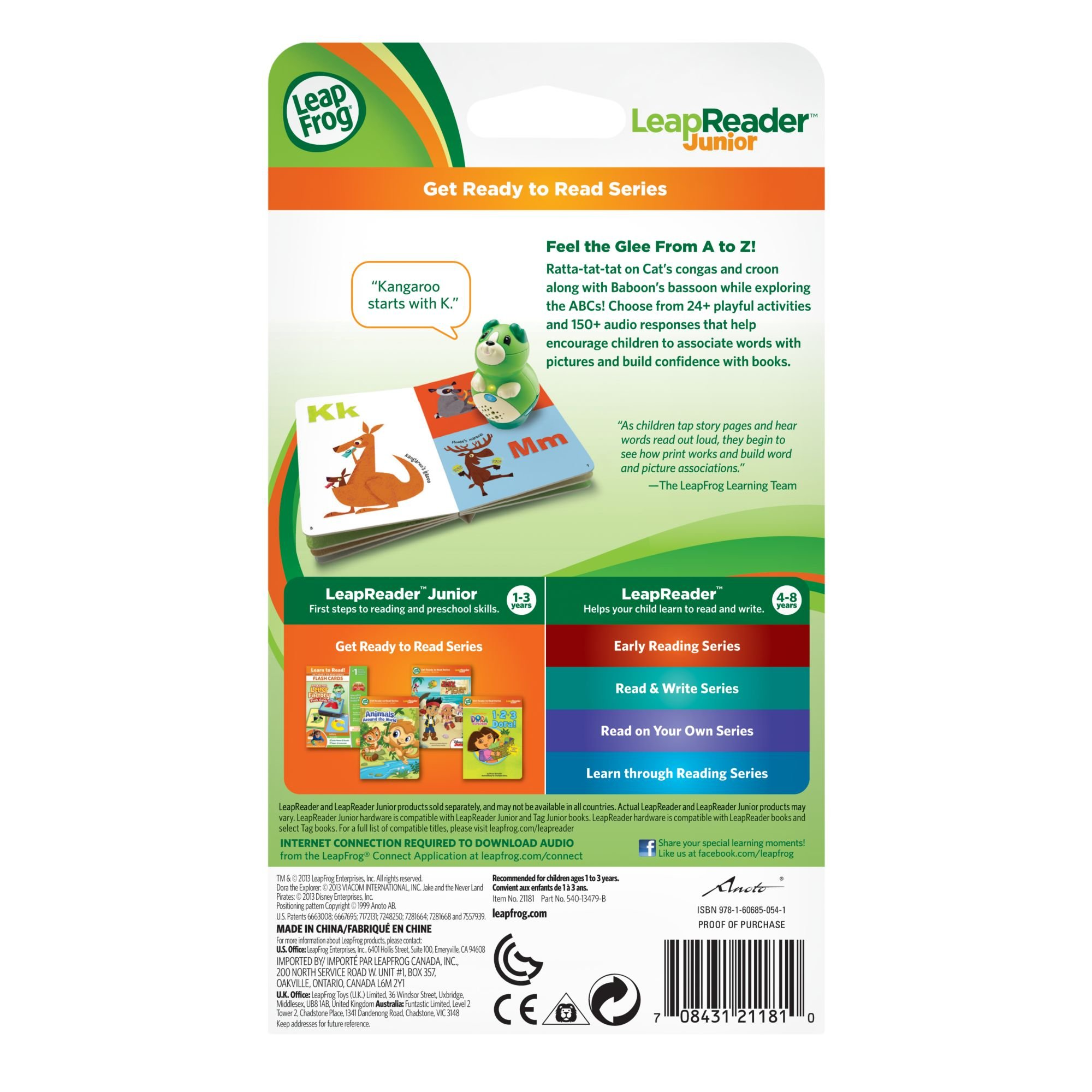 LeapFrog LeapReader Junior Book: ABC Animal Orchestra (works with Tag) by LeapFrog (Image #5)