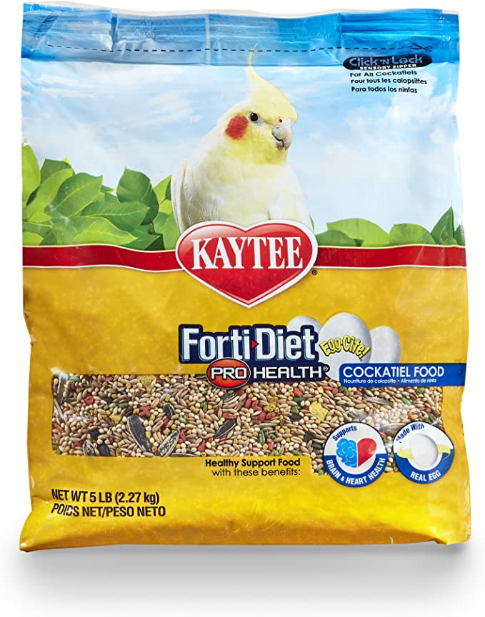 Kaytee Supreme Bird Food For Cockatiels 25-Lb Bag Pet High Quality US SELLER New