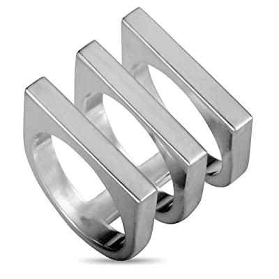 Georg Jensen Silver Ring Aria #593B Slim