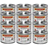 Party Essentials Chafing Dish Jelled Methanol Warming Fuel, 12-Pack