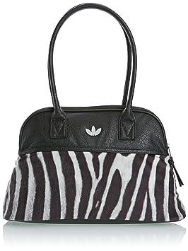 Adidas Para Negro Cebra De BowlingbagColour Mujer Bolso Piel wPXn0N8Ok